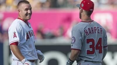 ¿Trout y Harper juntos? Ese es el 'sueño guajiro' de los Phillies