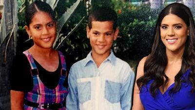 En fotos: Francisca Lachapel recuerda su infancia en Azua