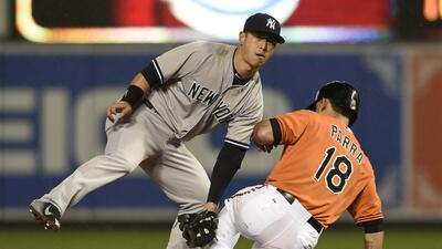 Baltimore tropieza a Yankees