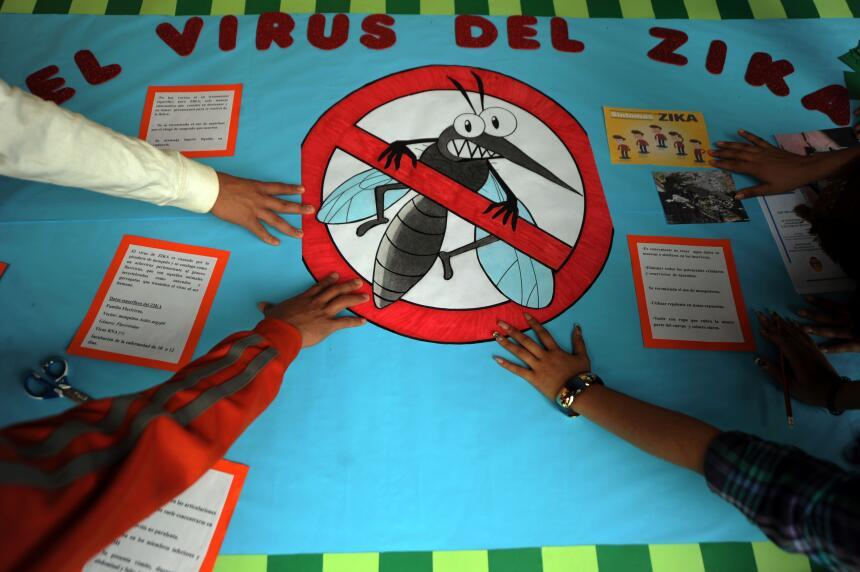 Los síntomas del zika incluyen sarpullidos, fiebre leve y dolor e...