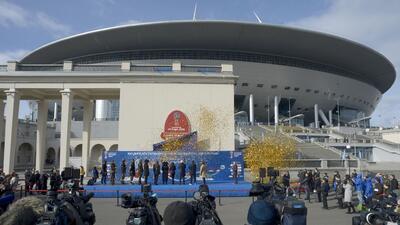 Krestovski, el estadio 'más caro del mundo' que recibirá la final de Copa Confederaciones