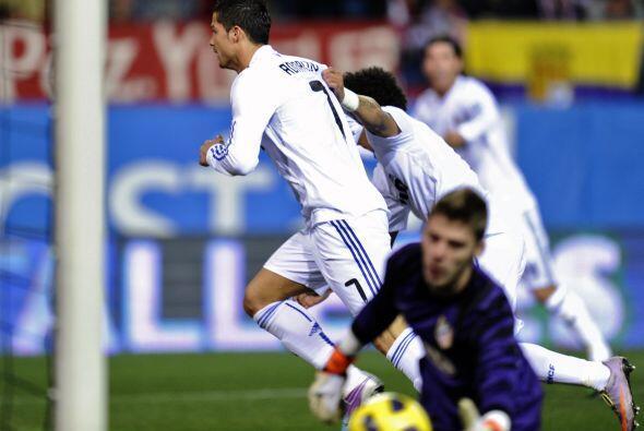 El portugués marcó el primer gol del encuentro.