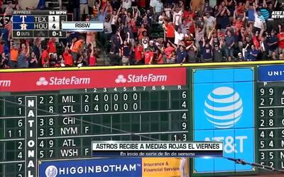 Contacto Deportivo Houston: Astros se prepara para recibir a Medias Rojas