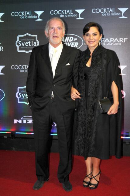 Fernando Luján y su esposa Martha Mariana Castro