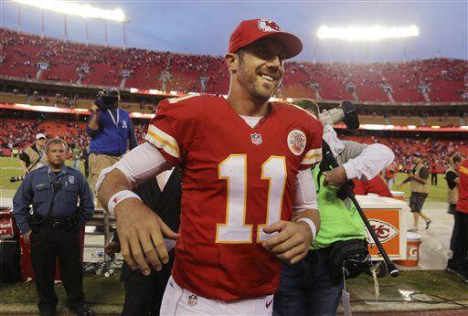 Alex Smith, quarterback de los Kansas City Chiefs (AP-NFL)