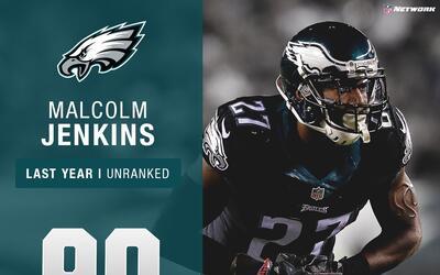 #90: Malcolm Jenkins (S, Eagles) | Top 100 jugadores 2017