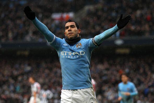 Carlos Tévez amagó con irse del Manchester City varias vec...