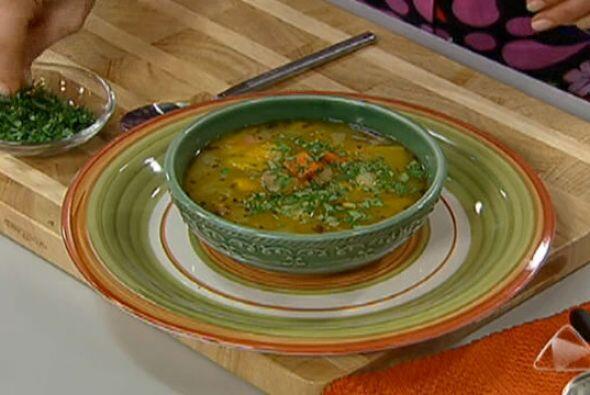 7. Sopita de Pollo: Pero quizás no hay otro 'comfort food' más deseada p...