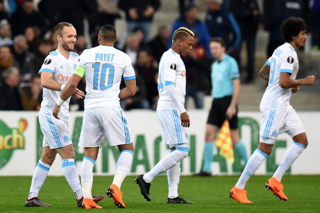 Marsella 3-0 Sporting Braga: con un doblete de Valere Germain y un gol d...