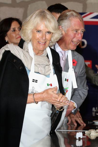 Pero Camilla se veí encantada con la visita al pueblo mágico de Real del...