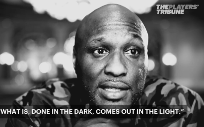 Lamar Odom talks to the Player's Tribune on July 27th, 2017. The retired...