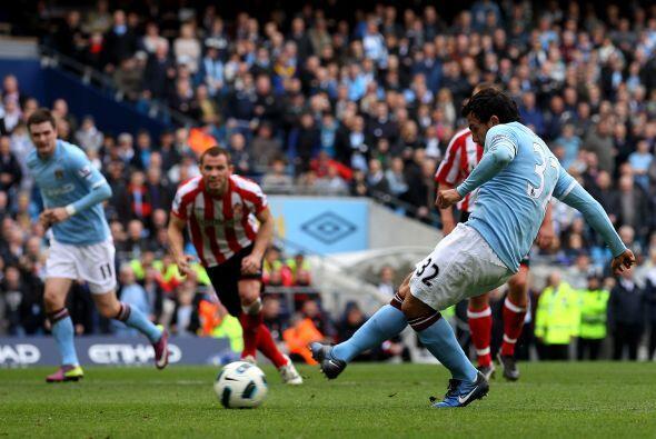 Un penalti bien cobrado por el argentino aumentó la ventaja.