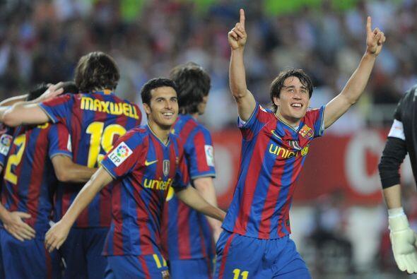 El Barcelona se sigue acercando al campeonato de la Liga de España desup...