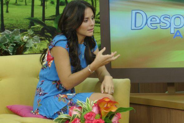 También habló de su futuro matrimonio con Alberto Guerra y el curioso mo...