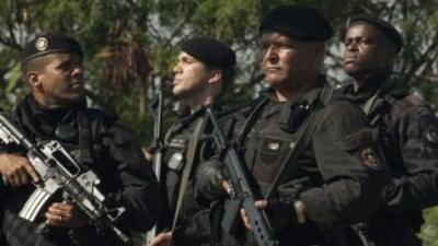 La ocupación de las barriadas forma parte de la política de pacificación...