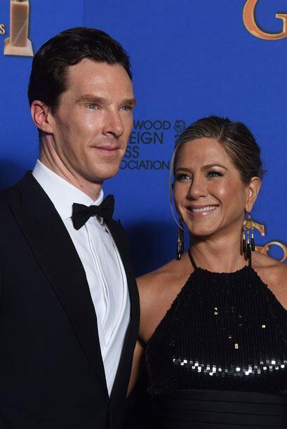 Benedict Cumberbatch y Jennifer Aniston.