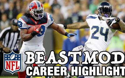 "Marshawn Lynch ""Beast Mode"" y su sobresaliente carrera"
