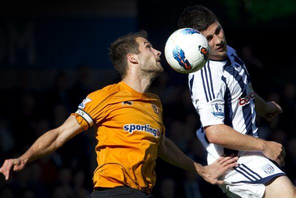 En el último duelo del día, el West Bromwich recibió al Wolverhampton.