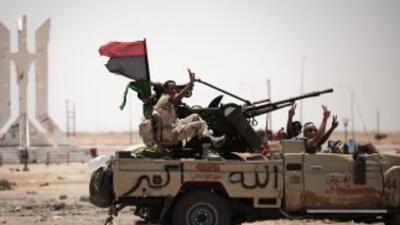 La revuelta de Libia, iniciada en marzo inspirada en movimientos similar...