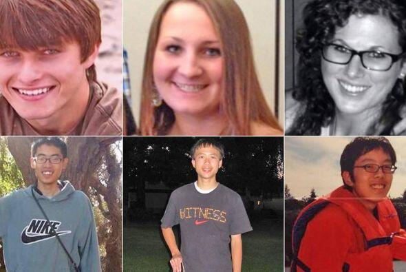 Las seis víctimas mortales eran estudiantes de la Universidad de...