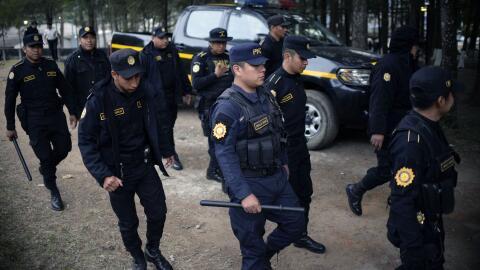 El acusado, Catalino Esteban Valiente Alonzo, era el jefe de la Polic&ia...