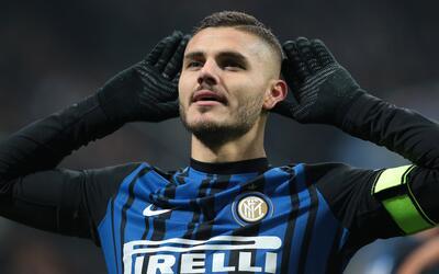 Doblete de Icardi le da la segunda plaza al Inter