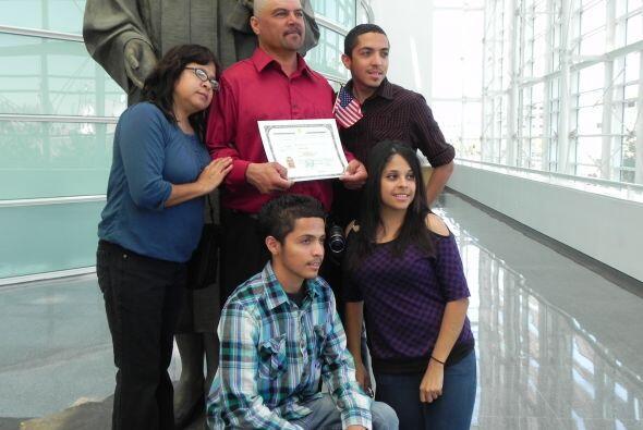 Francisco Serna Alvarez, de Sonora, México, dijo estar orgulloso de pode...