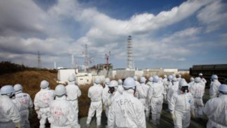 La fuga de 300 toneladas de agua radiactiva en un tanque de Fukushima se...