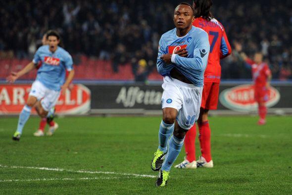 El defensa Juan Zúñiga se hizo presente en el marcador y el Napoli se im...