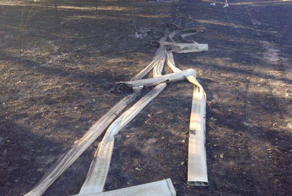 El área más afectada fue en el condado de Waller y se espera que la pren...