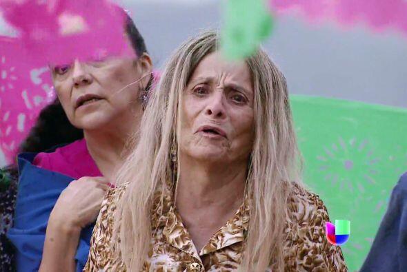 Rita quedó desconsolada cuando vio que se llevaban a su nieta.