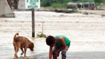 Efectos del huracán Marty en Guerrero.