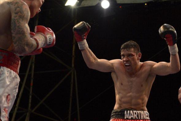 Al ver la poca acción que por momentos ofrecía Murray, Martínez pedía qu...