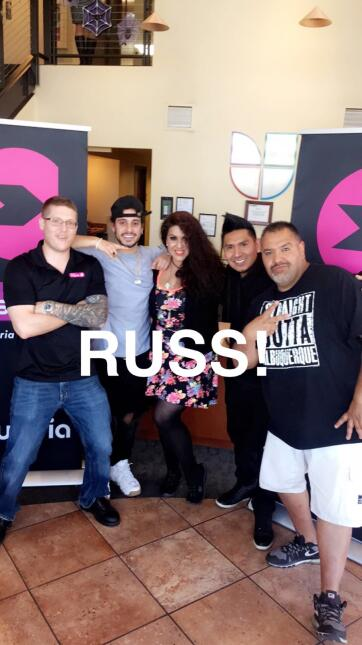KISS 97.3 Russ Meet & Greet!