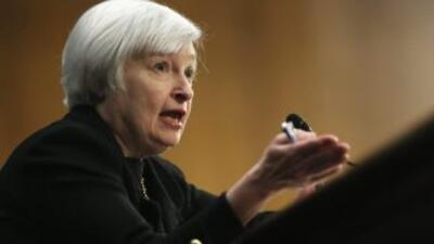 Yanet Yellen, presidente de la Fed.