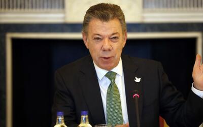 """Santos asegura que Colombia está haciendo """"progresos sustanciales"""" con e..."""