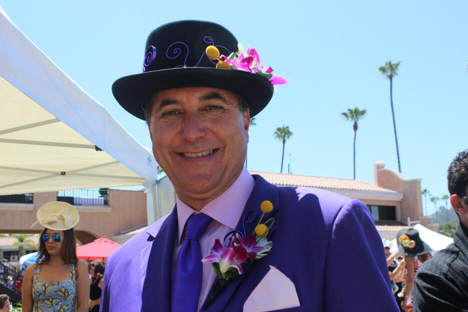"""Vean como se la pasaron todos el """"Opening Day"""" en el Del Mar Fairgrounds..."""