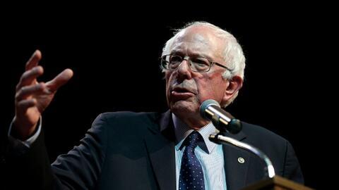 """Sanders: """"No estamos tratando con condescendencia a nadie"""""""