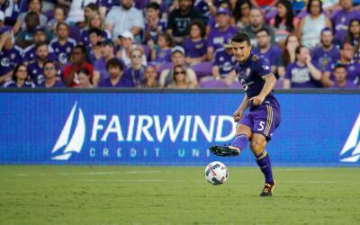 Servando Carrasco con Orlando City SC