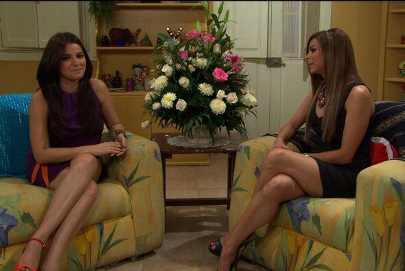 Lourdes Stephen viajó hasta México para entrevistar a Maite Perroni