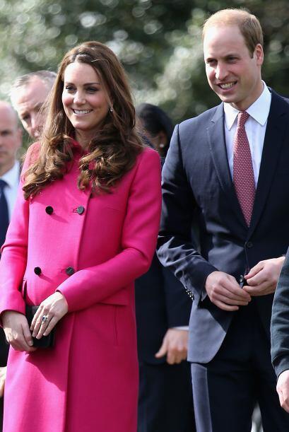 Durante un mismo día, viajaron a varios eventos en Londres.