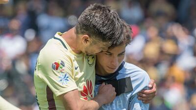 Oribe Peralta y Diego Lainez