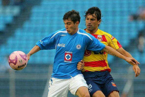 El uruguayo Vigneri estaría un año (2008) con el Cruz Azul en el cual ju...