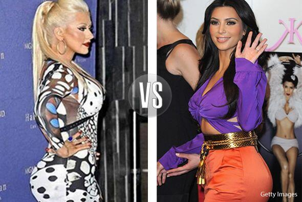 ¡Wow! La competencia se pone buena. ¿Qué se hizo Christina Aguilera en l...