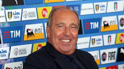 Giampiero Ventura, presentado como nuevo entrenador de Italia