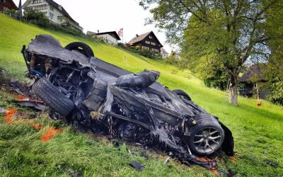 Accidente Richard Hammond en un Rimac Concept One