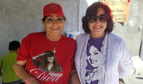 La familia Rivera solidaria con damnificados de México y Puerto Rico.