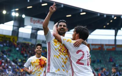 España vence a Bosnia en duelo amistoso