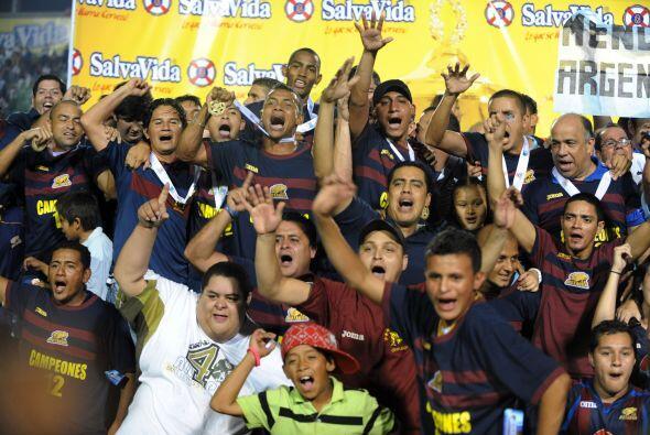 Motagua logró su 12vo título en la liga de Honduras al ven...