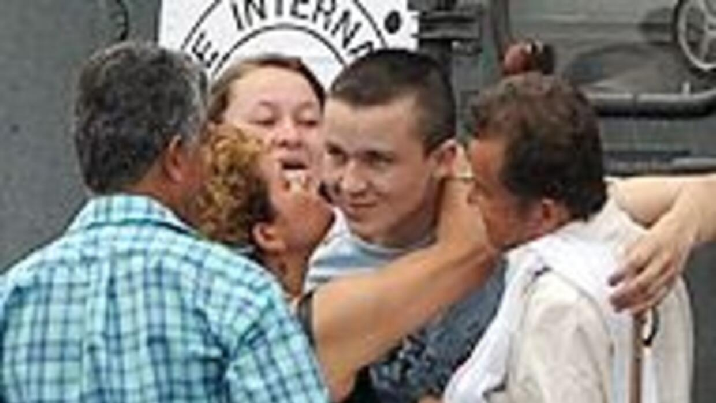 FARC liberaron al soldado Josué Daniel Calvo, tras un año de secuestro 7...